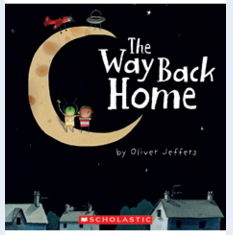 http://www.amazon.com/Way-Back-Home-Oliver-Jeffers/dp/0399250743/ref=sr_1_1?ie=UTF8&qid=1461527603&sr=8-1&keywords=way+back+home