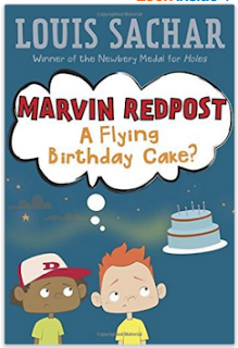 http://www.amazon.com/Flying-Birthday-Marvin-Redpost-paper/dp/0679890009/ref=sr_1_1?s=books&rps=1&ie=UTF8&qid=1461527841&sr=1-1&keywords=flying+birthday+cake&refinements=p_n_feature_browse-bin%3A2656022011%2Cp_85%3A2470955011